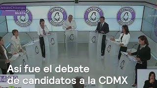 Resumen del primer debate de candidatos al Gobierno de la CD...