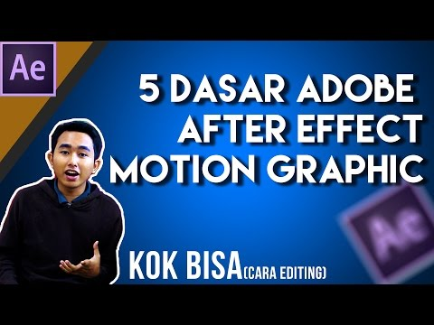 #After Effect Tips 1:  5 Dasar After Effect Motion Graphic