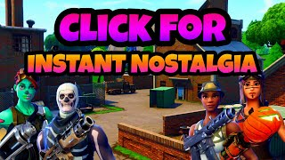 This video WILL give you Fortnite Nostalgia!