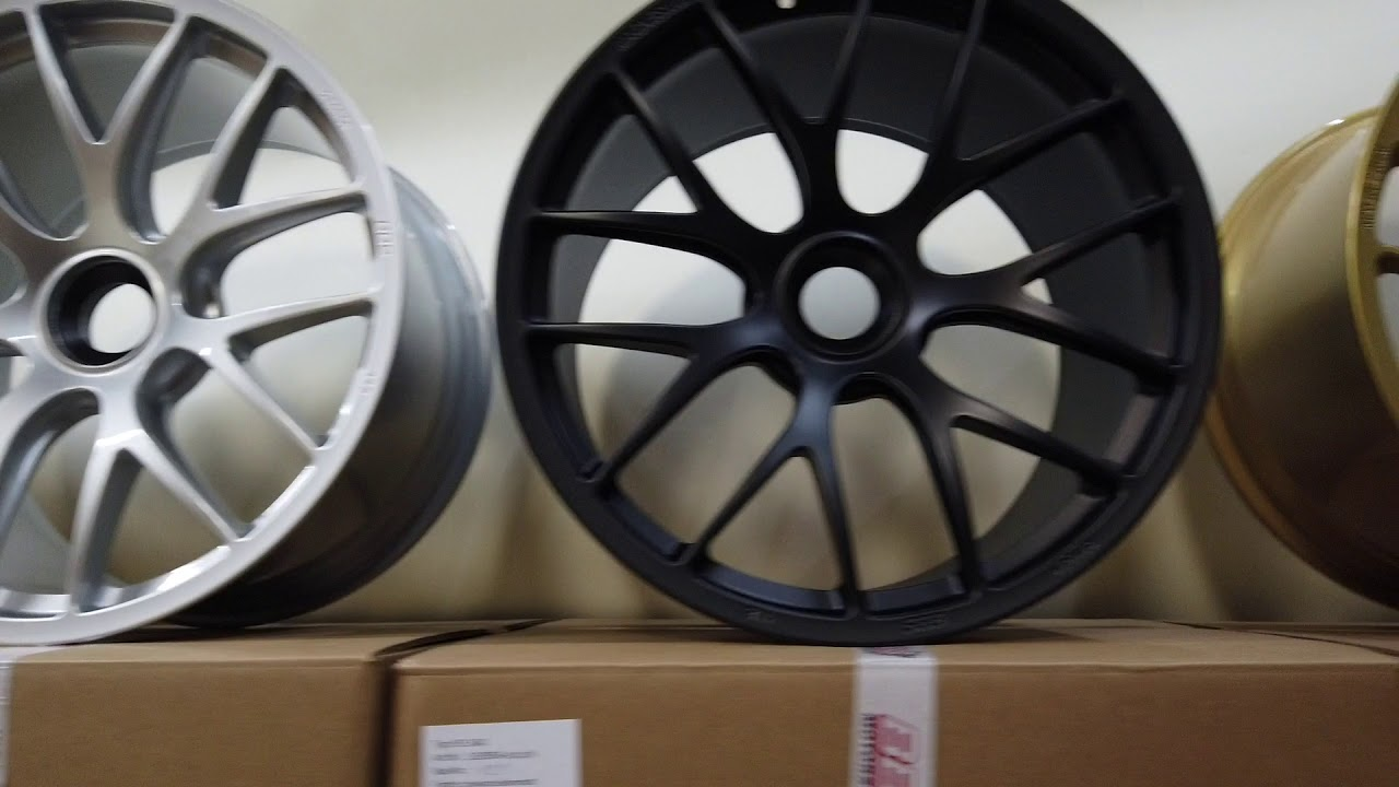 Manthey Racing Wheels For Porsche Gt3 Rs