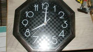 часы от сети