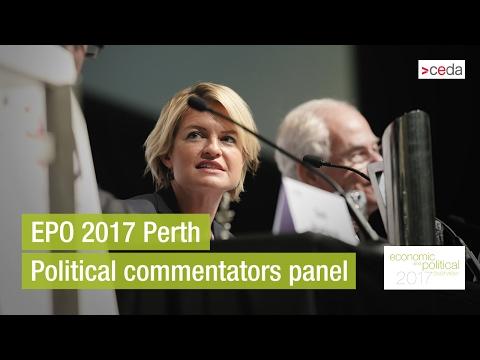 EPO 2017 Perth - Political commentators panel discussion