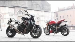 MV Brutale 1090RR v Ducati Streetfighter S thumbnail