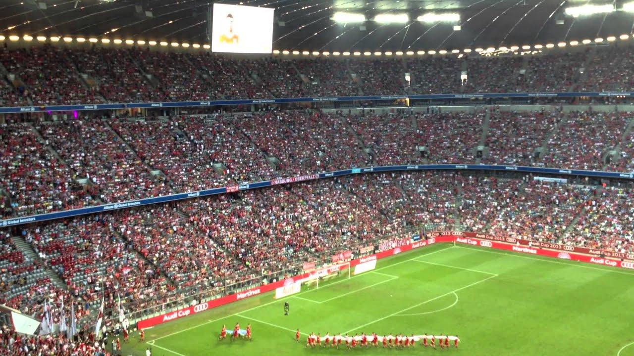 Mannschaftsaufstellung Bayern