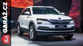 Škoda Karoq 2017 - Naše první dojmy z nového SUV