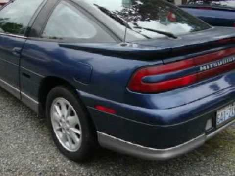 1992 Mitsubishi Eclipse Bellevue WA - YouTube