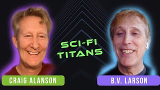 In Conversation: Craig Alanson & B.V. Larson   Podium Audio