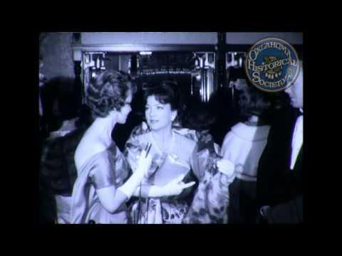 """Ida """"B"""" Blackburn Cast of Cimarron Film Interviews 1960."""