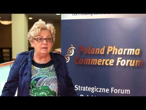 [zdrowie-tv rekomenduje] Irena Rej o Poland Pharma Commerce Forum