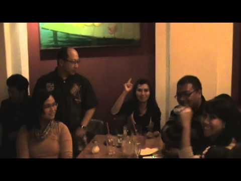 Gangnam style di restoran Karaoke Globe Praha by Diaspora