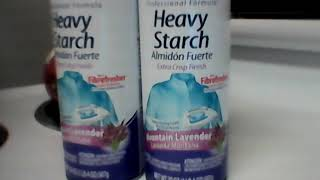 Heavy duty starch mountain lavender price 98 cents each
