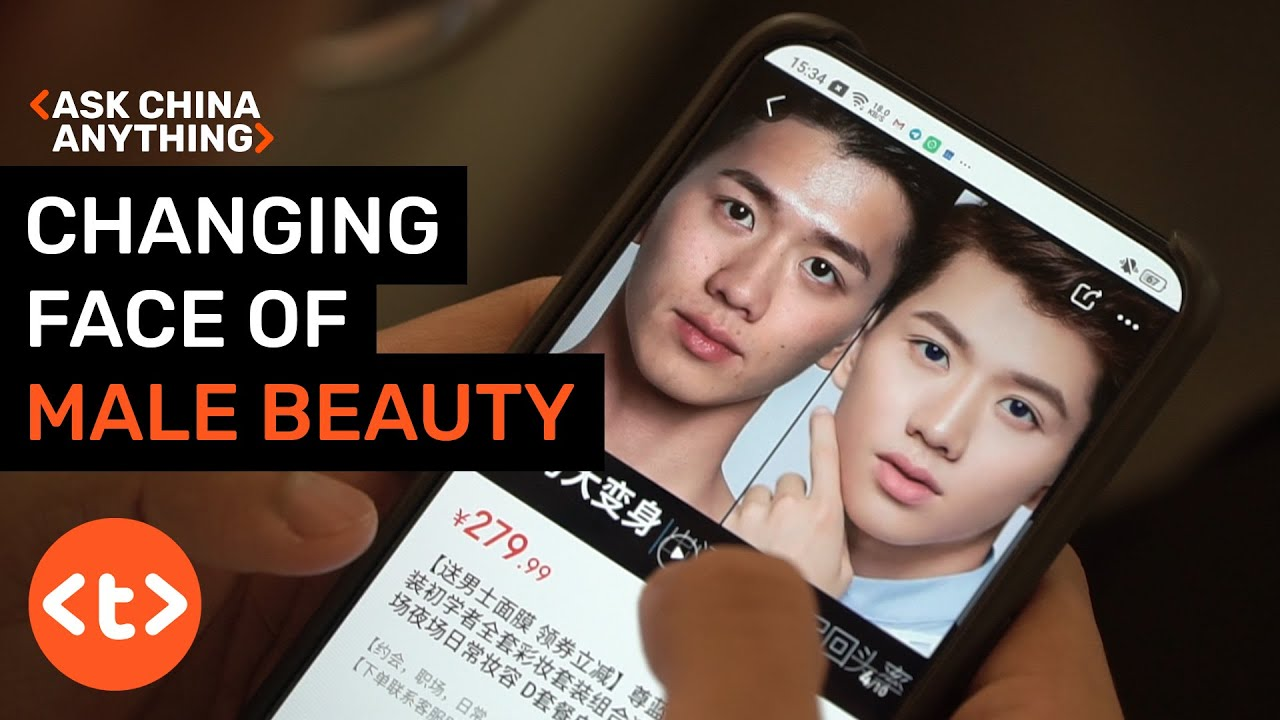 Image result for Ask China Anything: The changing face of male beauty in China