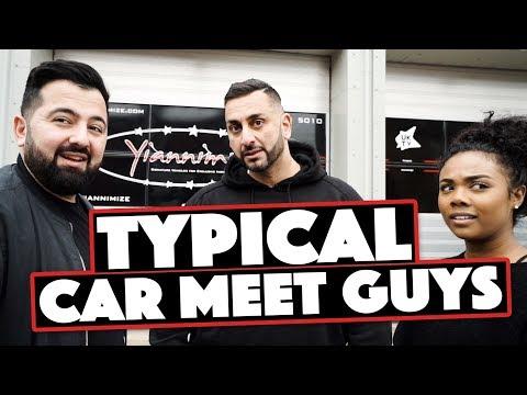 Different Guys at a Car Meet