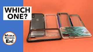 The BEST Clear Cases for the iPhone XS and iPhone XR