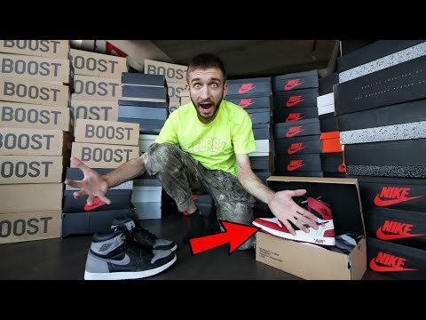 My ENTIRE SNEAKER COLLECTION 2019! Worth $100,000+