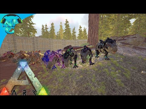 S1E12 TEK REX ARMY RAIDING! Strategy and Team Work on POINT! ARK: Future Evolved PVP