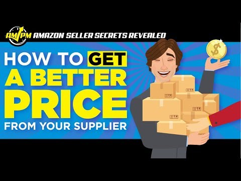 How to Get a Better Price from Amazon Suppliers - Amazon Seller Secrets Revealed