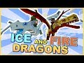 Minecraft| The Greatest Dragon Mod Ever! (Ice And Fire Mod showcase)