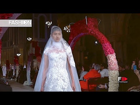 REEM ACRA Thankyou Collection Spring 2020 Bridal New York - Fashion Channel
