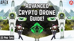 23 Pro Tips: WHAT CAN CRYPTO'S DRONE DO?! Pt.2 Everything You Need To Know Apex Legends