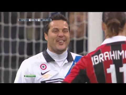 Zlatan Ibrahimovic vs Inter Milan Away 11-12