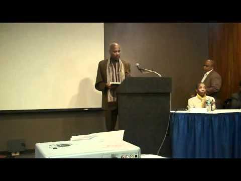 Harlem Politicians speak on Mass Incarceration - Bill Perkins and Keith Wright