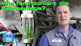 Wie funktioniert eine Klimaanlage im Auto?
