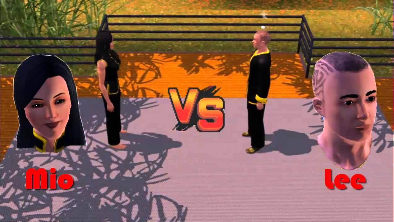 the sims 3 world adventures martial arts tournament. Black Bedroom Furniture Sets. Home Design Ideas