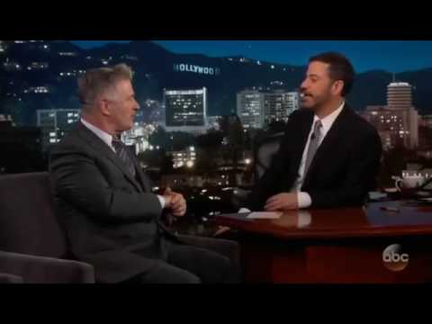 Snl-alec Baldwin Interview With Jimmy Kimmel
