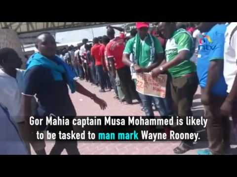 Excitement builds up as Gor Mahia prepare to face Everton