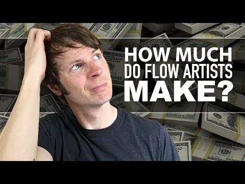 How much do Flow Artists make?