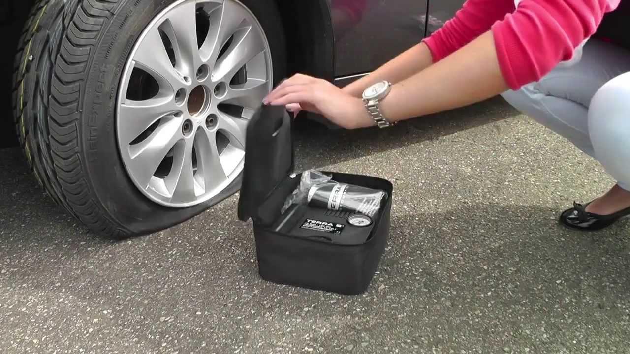 Terra S Reifenpannenset Standard Kit Youtube