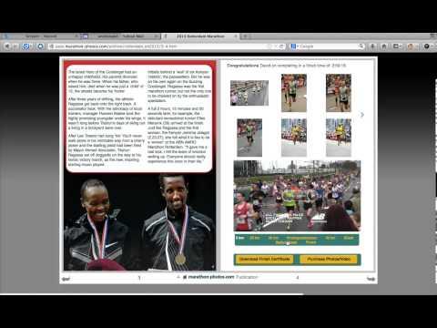 Rotterdam Marathon Online Magazine Technology