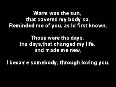 Anthony Hamilton - Dear Life Lyrics