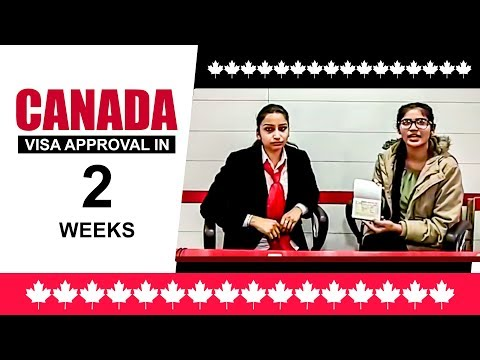 Canada Visa Approval in 2 Weeks