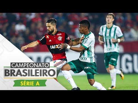 Melhores Momentos - Gols Flamengo 2 x 2 Palmeiras - Campeonato Brasileiro (19/07/2017)