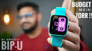 Amazfit Bip-U !! Best Budget Smartwatch