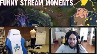 C9 Sneaky Shirtless | Imaqtpie, Tobias Fate Baron Steal | Stream Moments ft Bjergsen | Doublelift