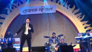 Sonu Nigam Live at Lucknow Mahotsav 2016 Feb