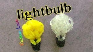 EASY Rainbow Loom Light Bulb Charms