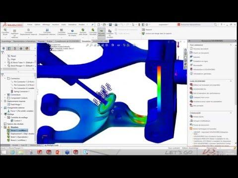 Formation SolidWorks : Les connecteurs en simulation