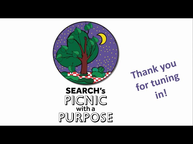 SEARCH's Picnic with a Purpose