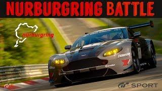 GT Sport - FANTASTIC NURBURGRING BATTLE (Top Tier Racers)