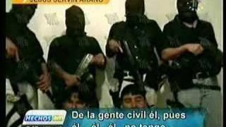 Repeat youtube video Asesinatos en Veracruz, los ensabanados