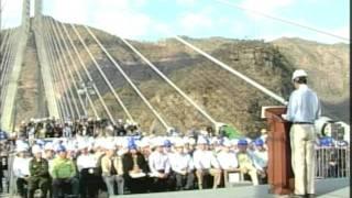 Gira Presidencial al Puente Baluarte en ...