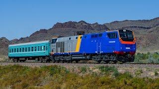 Пассажирские тепловозы ТЭП33А 0001 и ТЭП33А 0002