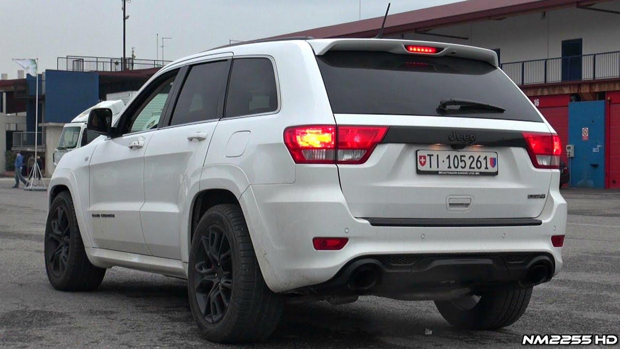 2014 jeep grand cherokee srt8 stock exhaust sound