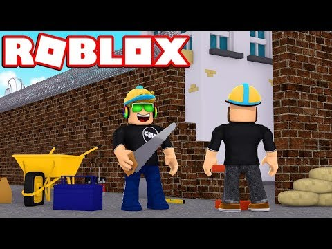 Escape Crazy Construction Site Obby In Roblox - roblox construction worker