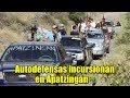 Autodefensas incursionan a Apatzingán