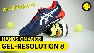 ASICS Gel-Resolution 8 vs. Gel-Resolution 7 | Hands-On | Tennis-Point
